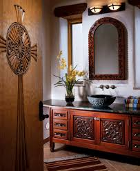 flor sylvester mirror and zaragosa vanity southwest furniture