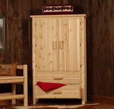 Bedroom Furniture Armoire by Rustic Log Bedroom Furniture
