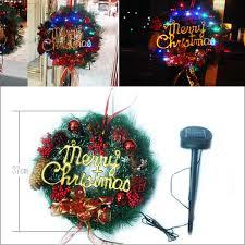 kmmart rakuten global market 30 solar lights wreath