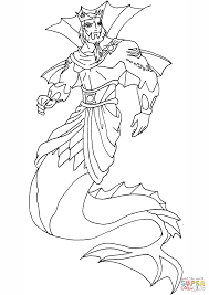 winx club king neptune coloring page free printable coloring pages