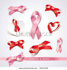ribbons and bows set ribbons bows on white background stock vector 97013510