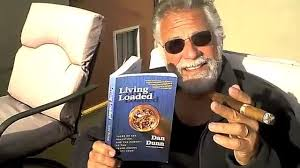 Most Interesting Man In The World Meme - the most interesting man in the world reviews a book about a