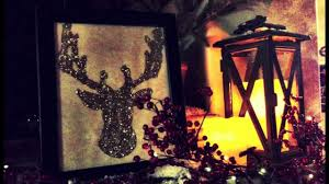 how to make a glitter reindeer for christmas diy craft shine