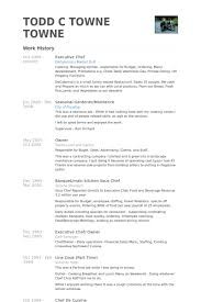 executive chef resume template executive chef resume samples