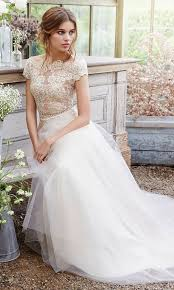wedding dress sleeve 30 beautiful wedding dresses with cap sleeves weddingomania