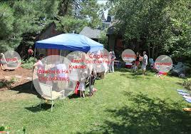 backyard party setup home design inspirations