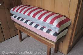 Feather Seat Cushions Bespoke Handmade Bench And Window Seat Cushions