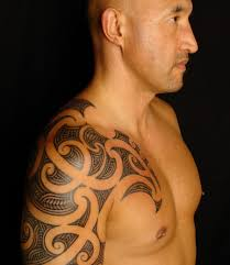 maori sleeve 63 classy maori shoulder tattoos