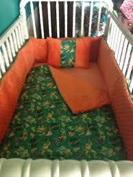 handmade 5 peace boys ninja turtles crib bedding set 100 cotton