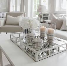 Mirror Living Room Tables How To Style A Coffee Table In Your Living Room Decor Living