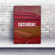 athens saturday football premium canvas wraps bulldogs gifts georgia bulldogs gifts ga bulldog store home decor