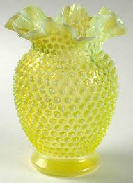 Hobnail Vase Your Favorite Brands Hobnail Glass At Replacements Ltd Page 1