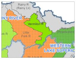 Lake Vermilion Map Vermillion River Watershed Minnesota Nutrient Data Portal
