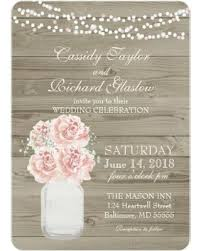 Rustic Invitations Mason Jar Wedding Invitations U2013 Gangcraft Net