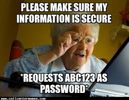 It Security Meme - security vs convenience call center memes