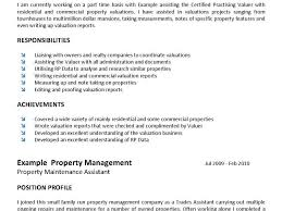 Resume For Real Estate Job by Real Estate Agent Job Description For Resume Template