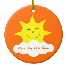 one day at a time ornaments keepsake ornaments zazzle