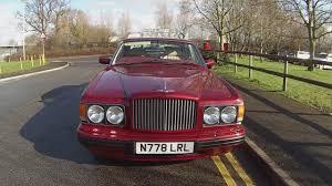 bentley brooklands 1997 1996 bentley brooklands in red pearl 13 000 youtube