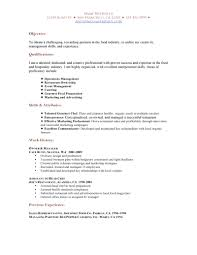 cover letter fine dining server job description fine dining server