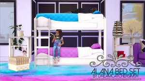 The Sims 2 Kitchen And Bath Interior Design Dreamcatchersims4 U201c Alana Bed Set Fixed Please Re Download