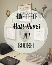 How To Decorate A Home Office On A Budget Home Office Must Haves On A Budget Moms Without Answers