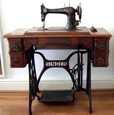 sewing machine table ideas old singer sewing machine with table table designs