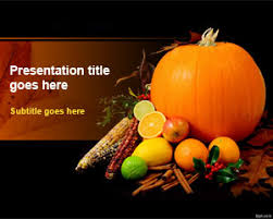 free thanksgiving day powerpoint template for microsoft