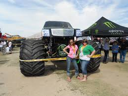 standing front monster energy monster truck