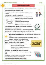 100 afrikaans taal worksheets grade 8 zuma cartoon exam
