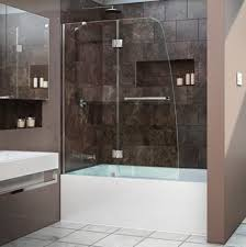Glass Door For Showers Dreamline Showers Aqua Hinged Tub Door