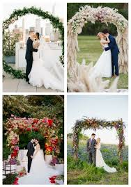 wedding arches pictures 20 trendy summer wedding arches and altars happywedd