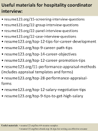 Resume Template Hospitality Sample Resume For Hospitality Coordinator Resume Ixiplay Free