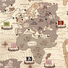 africa map fabric white viking organic fabric with map boat route usa organic
