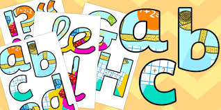 themed letters maths working wall themed display lettering school etc