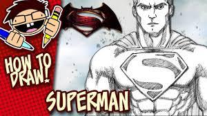 draw superman batman superman dawn justice step