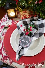 christmas napkin rings table linens christmas napkin ring printables the everyday home