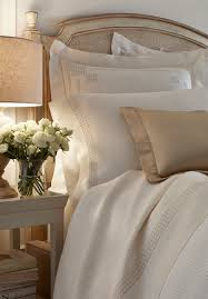 Custom Bed Linens - léron linens hand embroidered custom bed linens