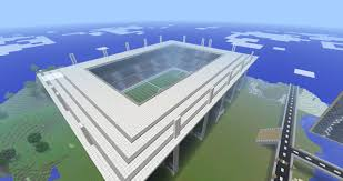 soccer stadium minecraft project