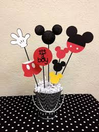 mickey mouse baby shower decorations mickey mouse baby shower centerpiece it s a boy mickey mouse