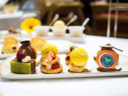 serving up a wimbledon afternoon tea at the landmark london the
