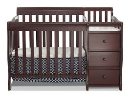 Crib Beds Sorelle Newport 2 In 1 Convertible Mini Crib And Changer Reviews