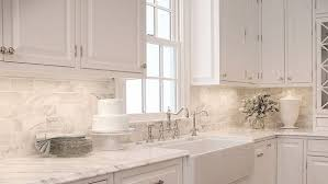 Marble Subway Tile Kitchen Backsplash Marble Kitchen Tiles Playmaxlgc