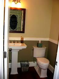 very small half bathroom