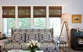 Modern Window Blinds And Shades Organic Indoors Woven Wood Shades And Bamboo Blinds For