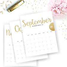 printable calendar 2016 etsy printable 2018 monthly calendar printable calendar gold glitter