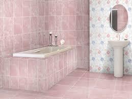 Pink Tile Flores Pink Shiny Ceramic Wall Tile 400 X 250mm Ctm