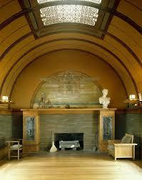 Interior Stone Arches Wright U0027s Architecture Of Space And Interior Designs
