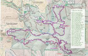 China Peak Map by Cougar Mountain Trail Routes