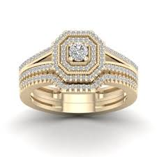 Yellow Gold Wedding Rings by Yellow Bridal Jewelry Sets Shop The Best Wedding Ring Sets Deals