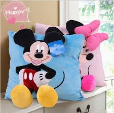 3d mickey mouse minnie mouse plush pillow kawaii mickey